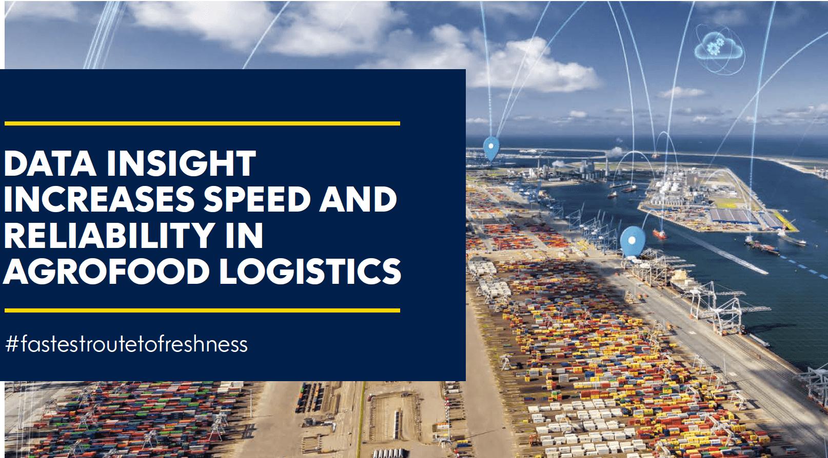 Data driven fresh produce supply chains - blockchain